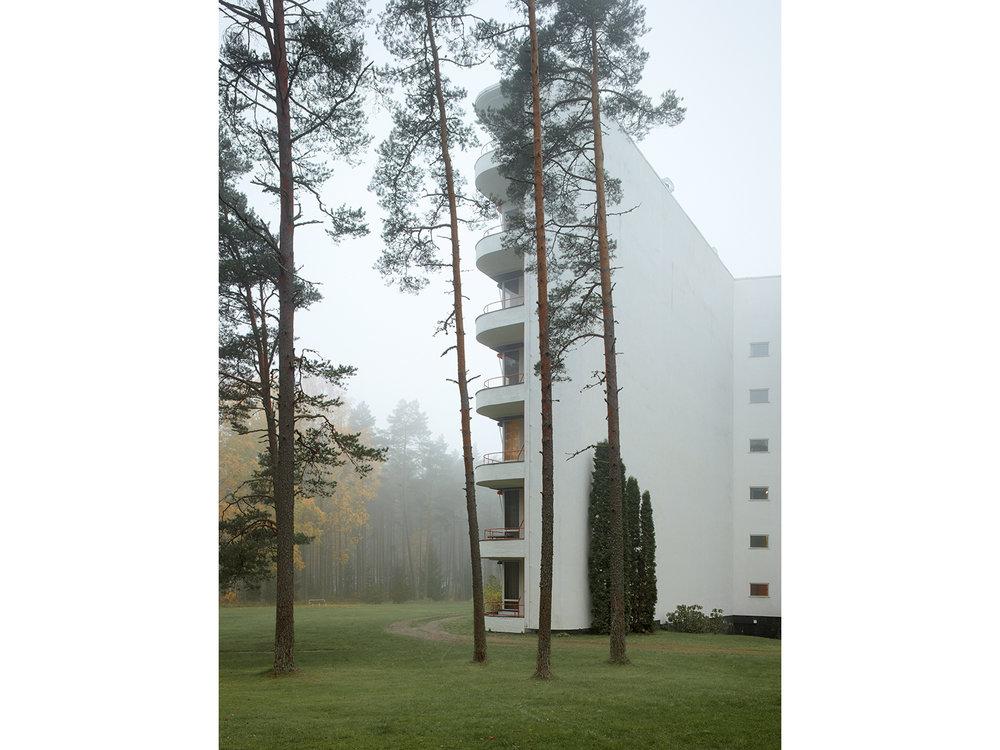 Paimion Parantola / Paimio SanatoriumAlvar Aalto, 1932