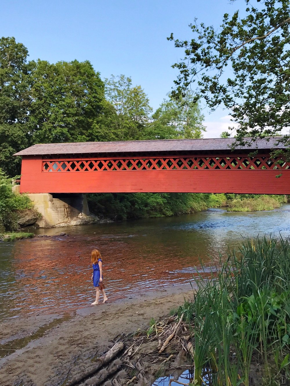covered bridge bennington vermont