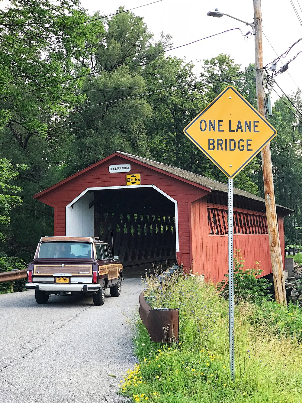 covered bridges bennington