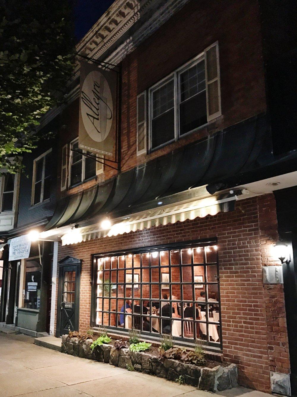 allegro bennington vermont restaurant