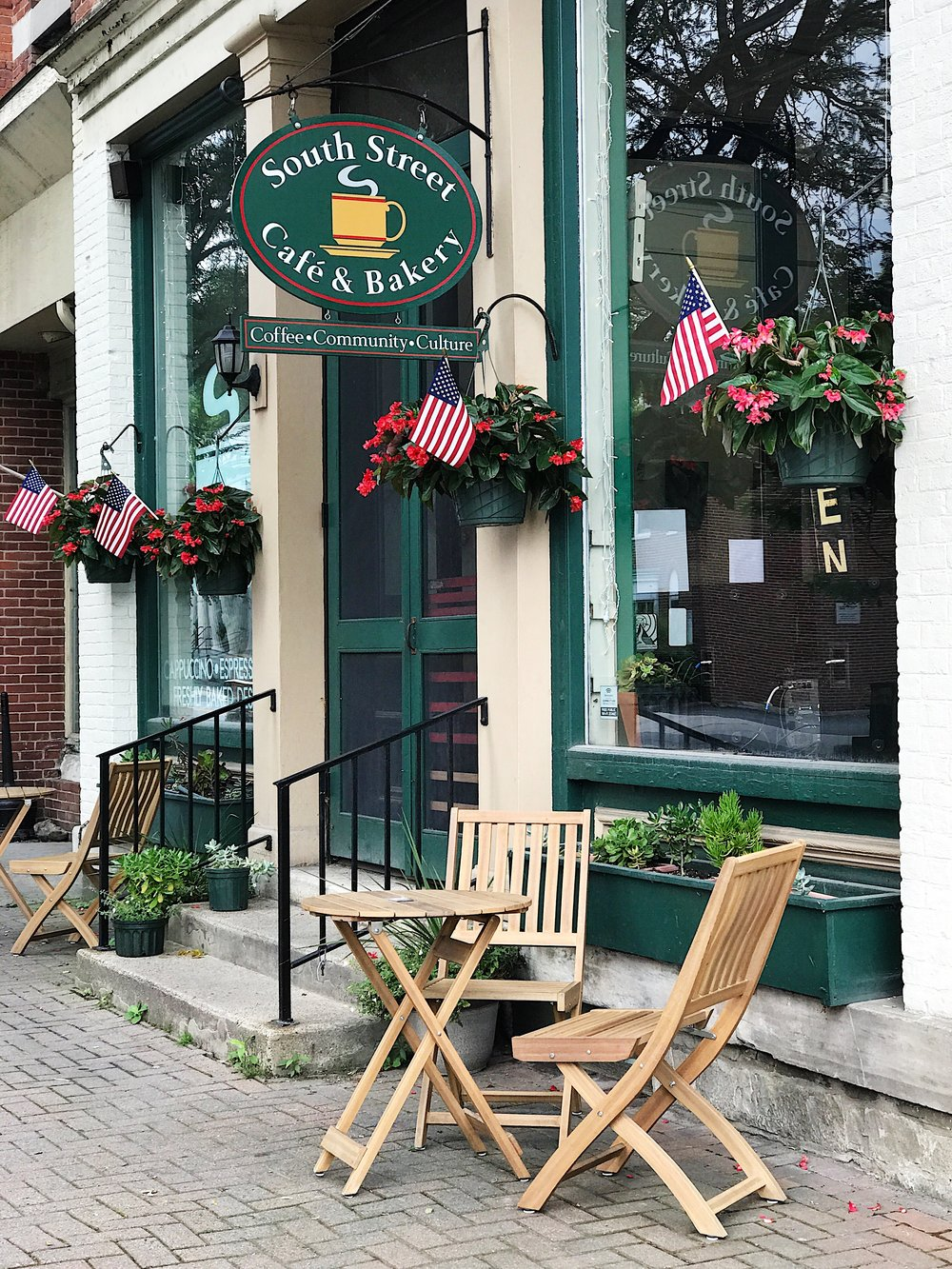 south street cafe bennington vermont
