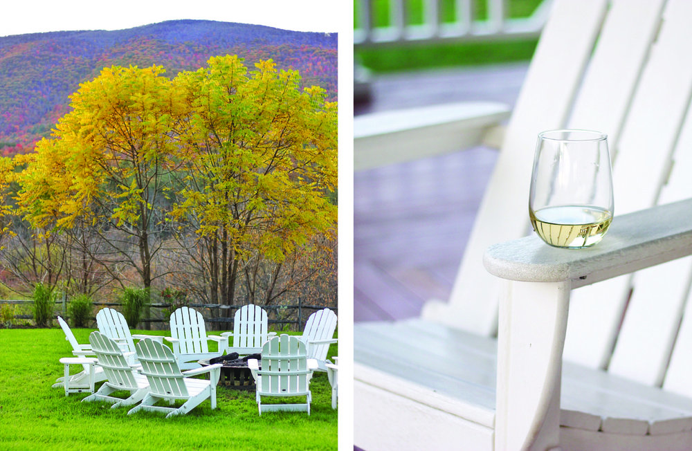 hill farm inn adirondack chairs