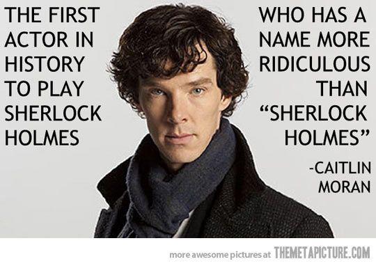 P.S. I'm a pretty big Sherlock fan....It's just so good!