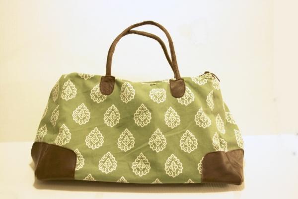 Moroccan Weekender Bag - NestingDoll.