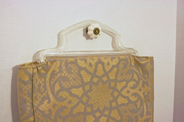 Clear Handle Bag - Close Up -- NestingDoll.
