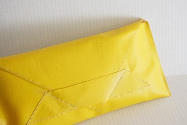 Yellow Envelope Bag -- NestingDoll.