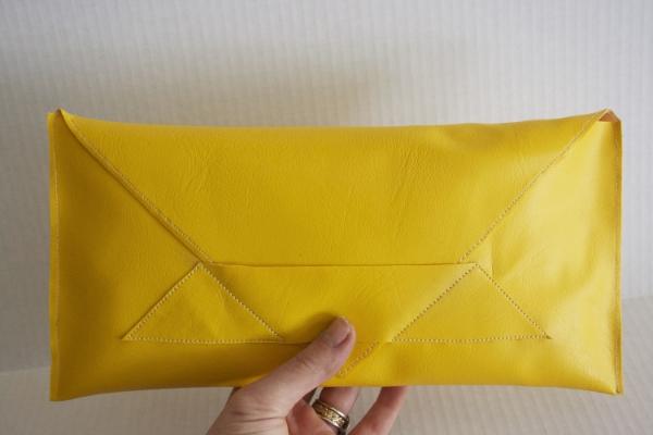 Yellow Envelope Bag --- NestingDoll.