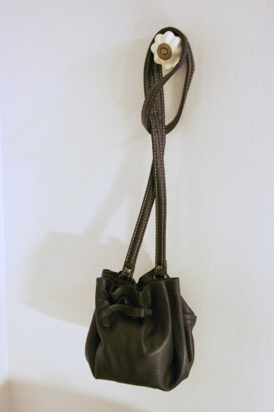 Black Pouch Bag - NestingDoll.