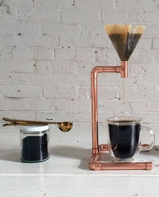 DIY Copper Pour Over Coffee Maker.jpg