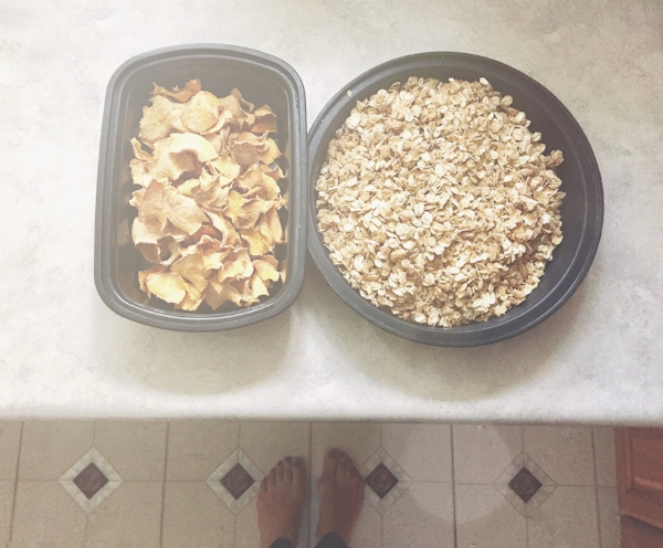Homemade Sweet Potato Chips fresh from the Dehydrator & Homemade Granola!