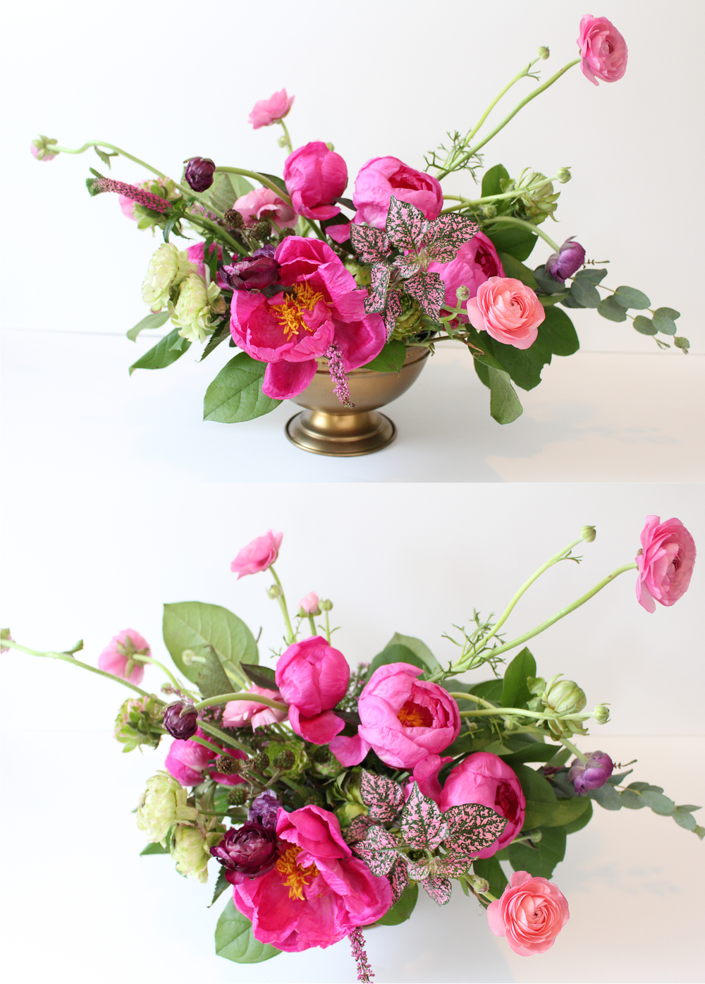 Arrange Flowers at Home!