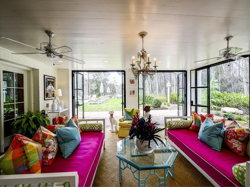 Colorful Family Compound in Atlanta