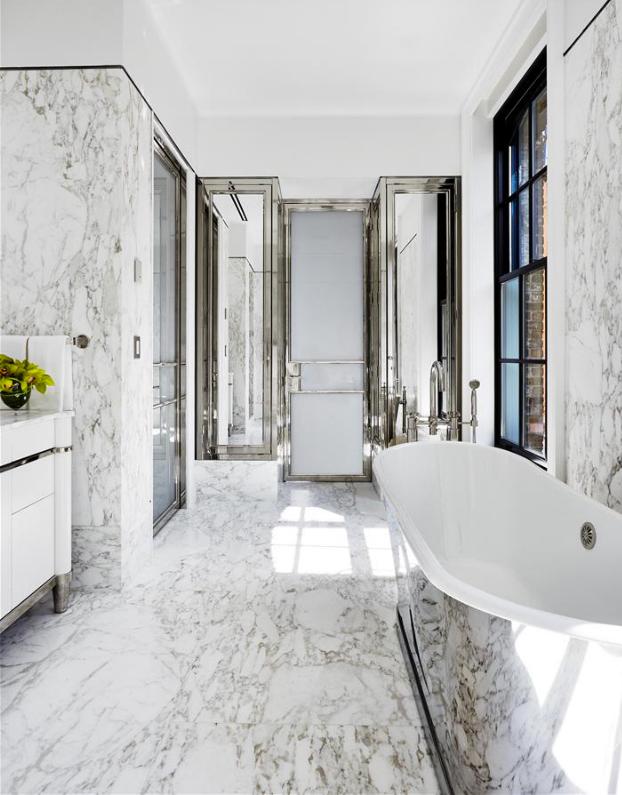 Amazing Marble Master Bath