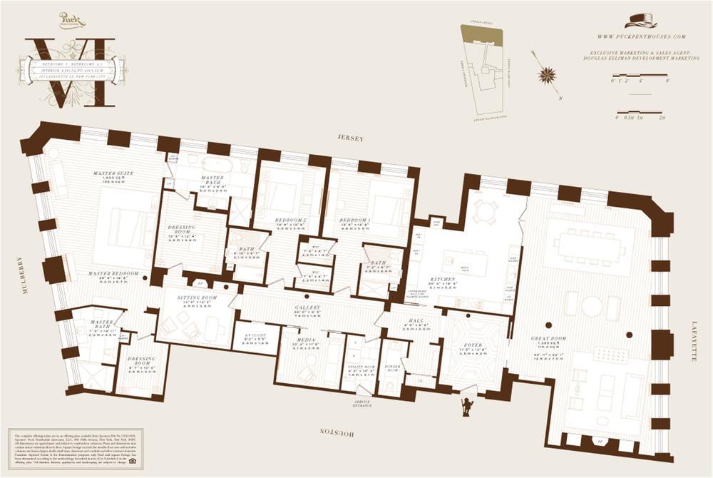 Puck Penthouse VI | Floor Plan