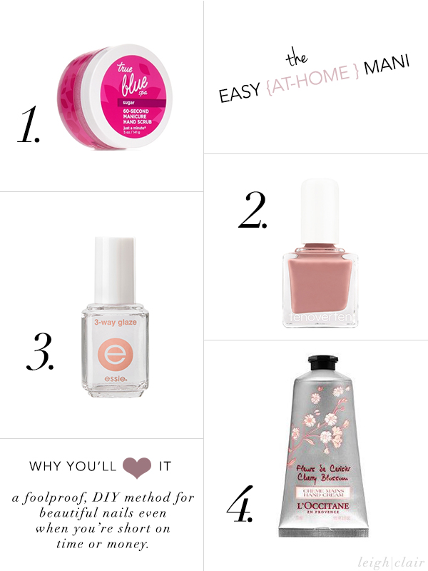 easy at home manicure