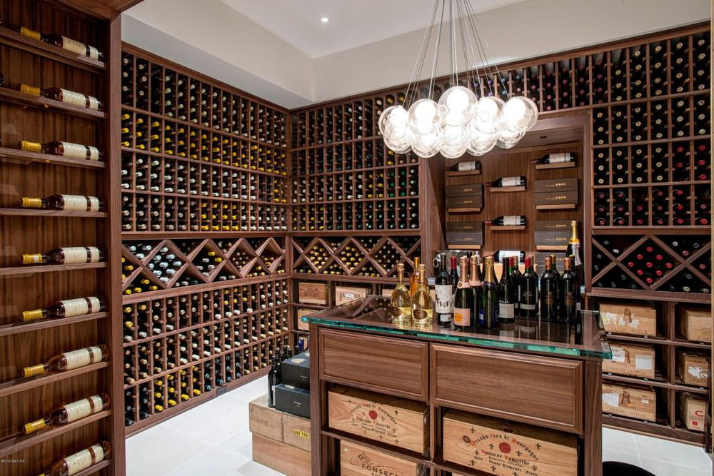now this is a wine cellar