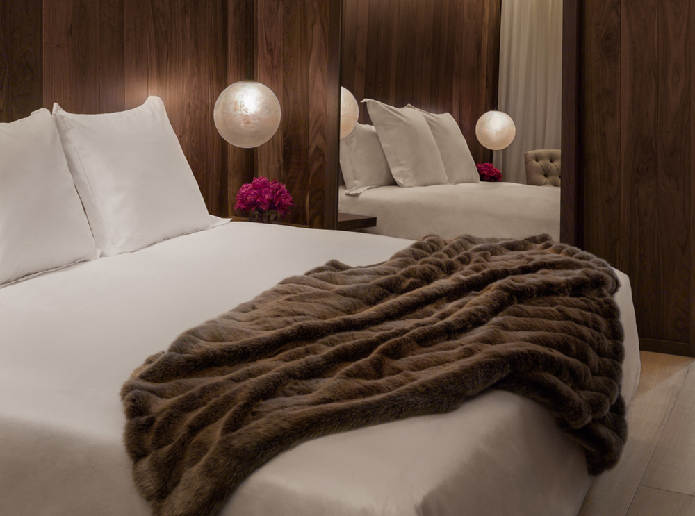 Sumptuous but simple luxe at The London Edition Hotel.