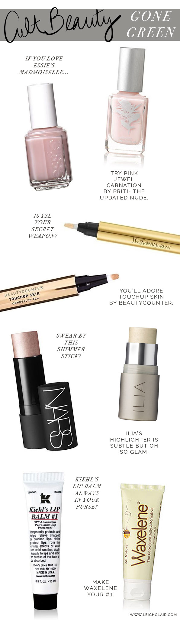 easy swaps for your cult beauty classics