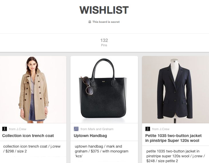 how to acquire your personal style with pinterest / a step by step plan