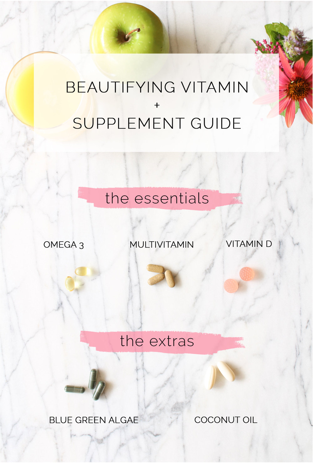 The Beautifying Vitamin and Supplement Guide - Leigh Clair