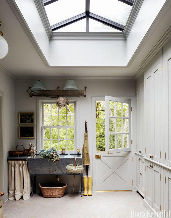 Dutch Door Love via KiraSemple.com | Interior design by Jeanette Whitson