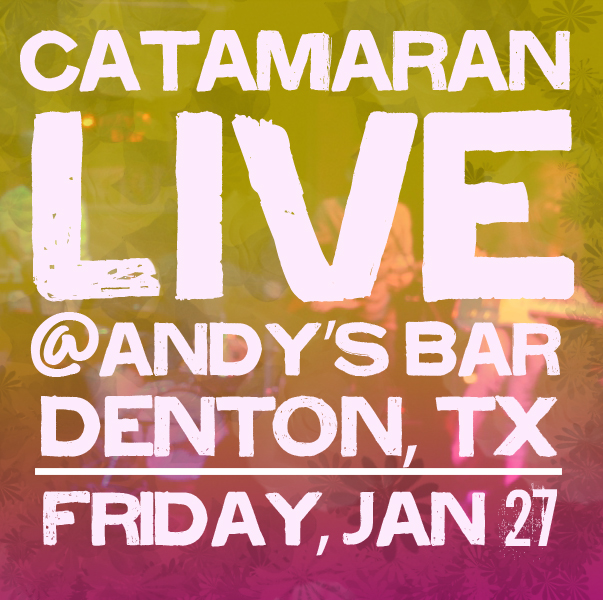 Show on Jan 27th at Andy's Bar