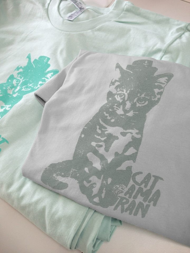 Gray Cat Shirt