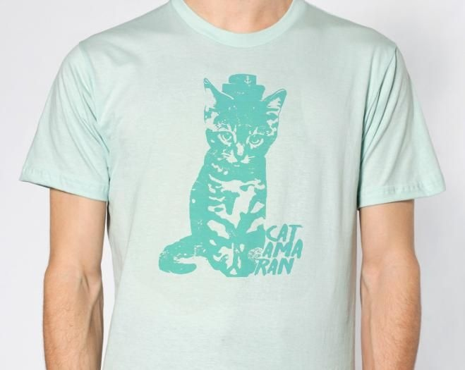 Seafoam Cat Shirt