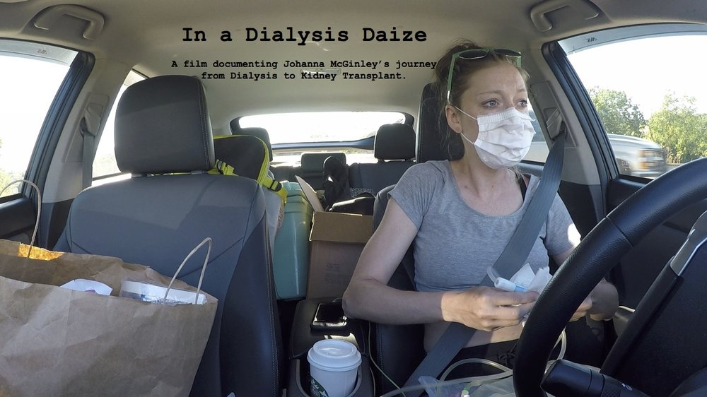 BLOG - Since the documentary isn't finished yet; check out Johanna's blog about her journey from dialysis to kidney transplant!