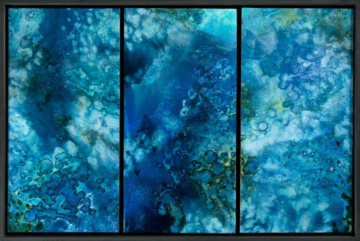 Aqueous (triptych I)