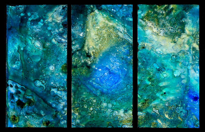 Aqueous (triptych II)