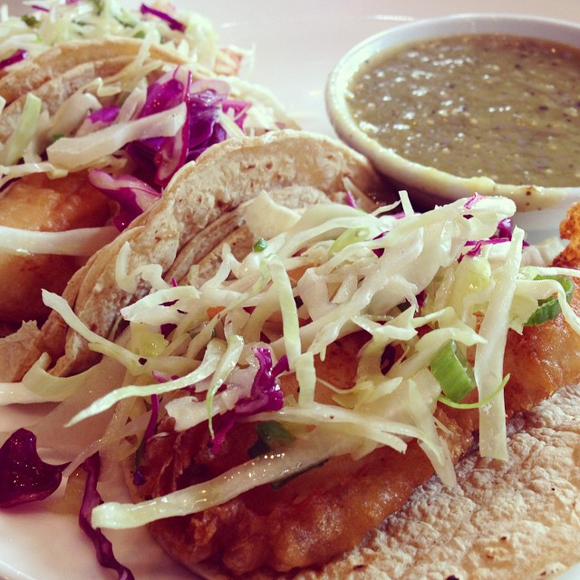 Our infamous fish tacos are back on the menu for both #lunch and #dinner! #fishtacos #friday #chicagofoodauthority