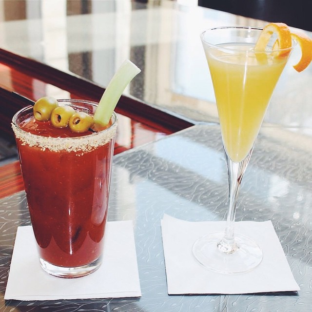 $6 #Mimosas & $7 #BloodyMary's all day! #ChicagoBrunch