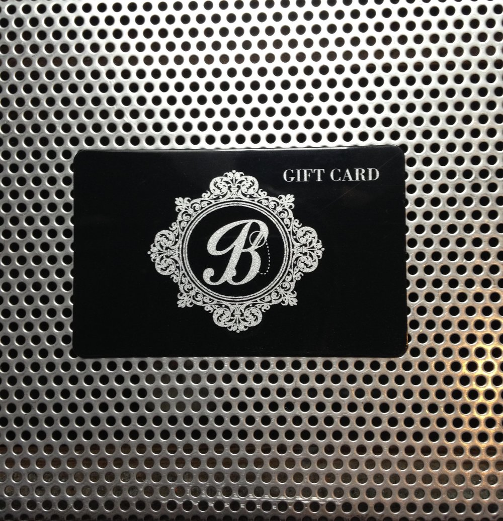 Gift Cards are now available.
