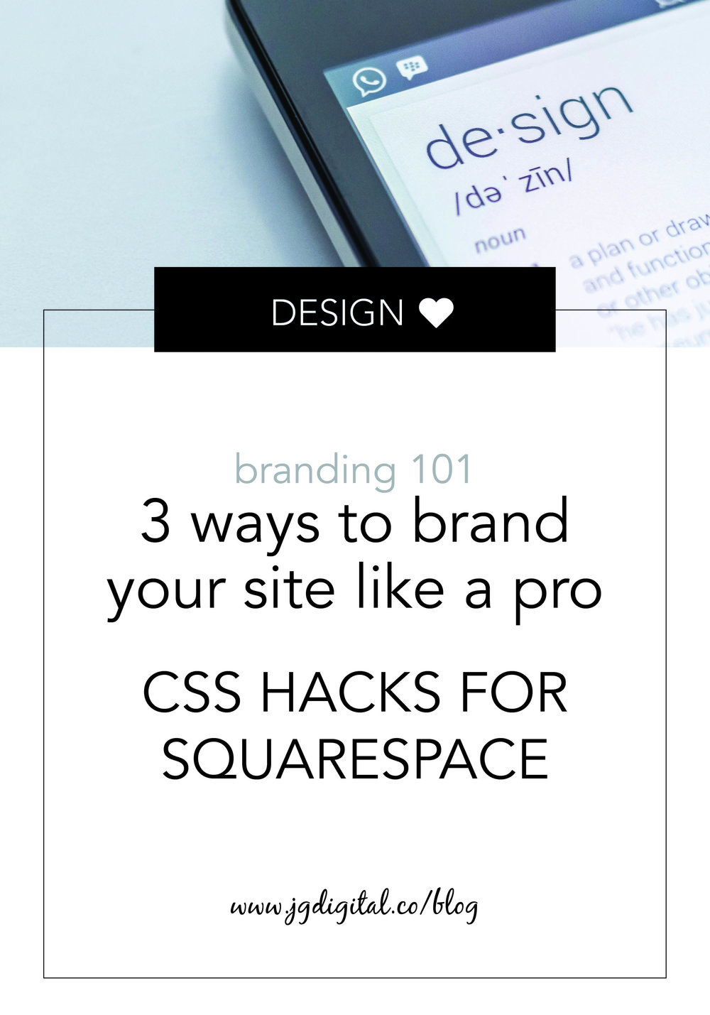 CSS Customization For Squarespace: 3 Ways to Brand Your Site Like a Pro, including Custom Index Page Background Color, Custom Contact Form, and Custom Navigation Button by jgdigital.co