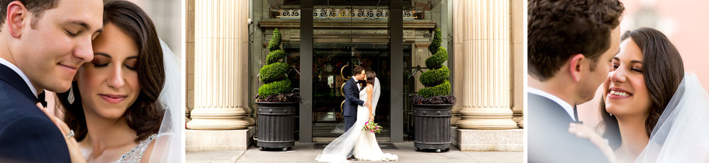 Hotel Monaco wedding portraits.