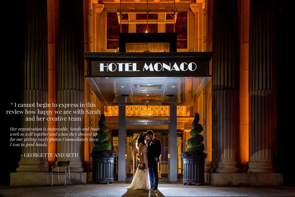 Hotel Monaco Wedding Photography
