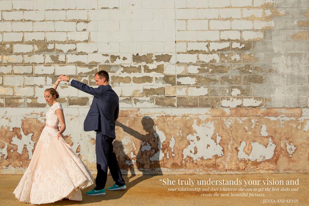 Reading Art Works Wedding Photo