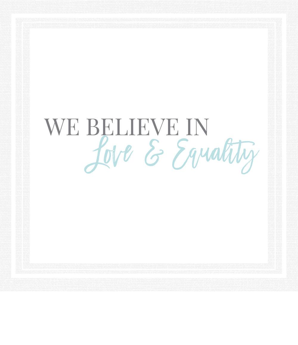 We believe in Jesus Christ.