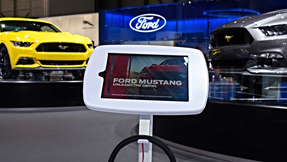 Mustang sound app, Geneva Autoshow, 2014