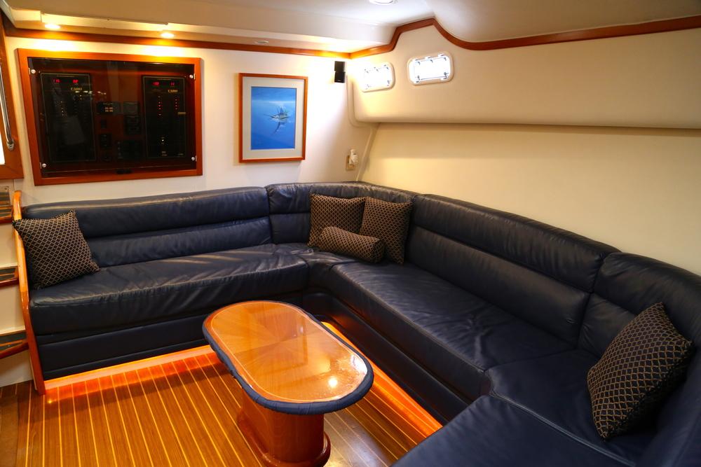 Cabo Yachts 45 Express Interior by Kusler Yachts