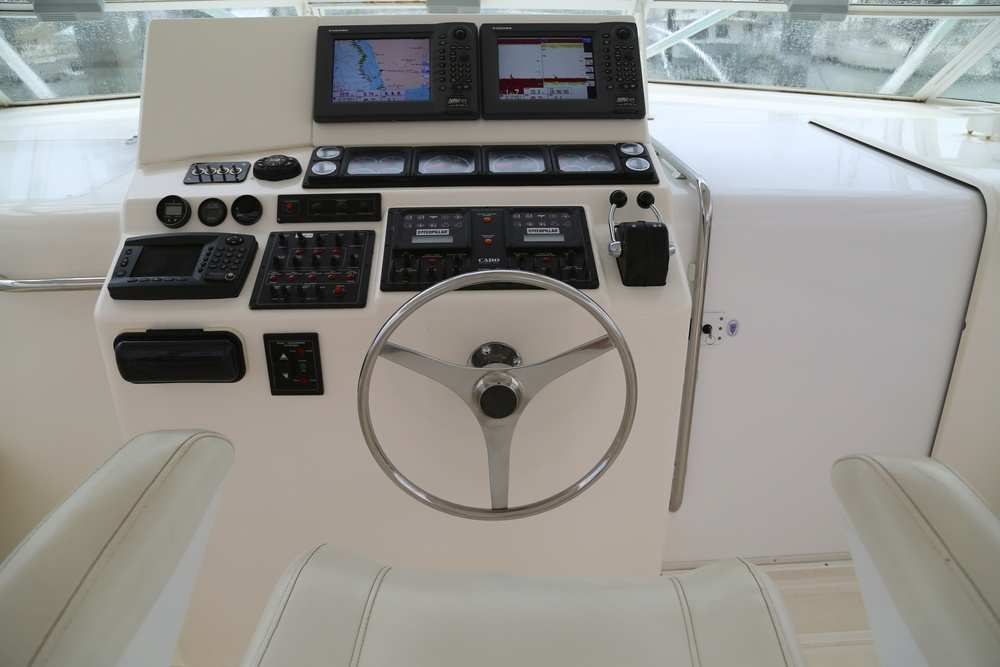 Cabo 45 Helm by Kusler Yachts