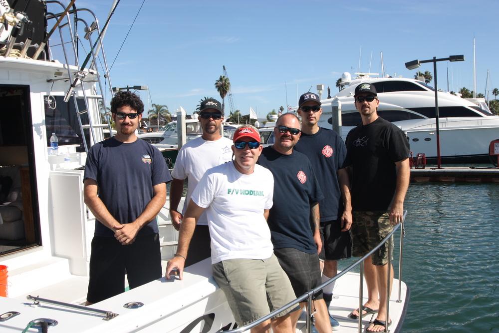 Sauerfish Crew - Eric Sauerwein, Mark Bowman, Dan Lerma, Stan Nowak, Drew Lawson, Michael Kusler