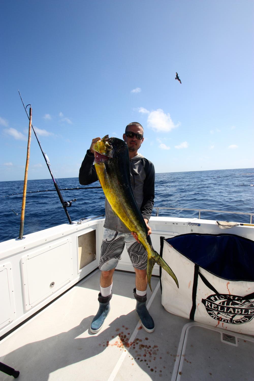 Dan Lerma with a nice Bull Dorado offshore