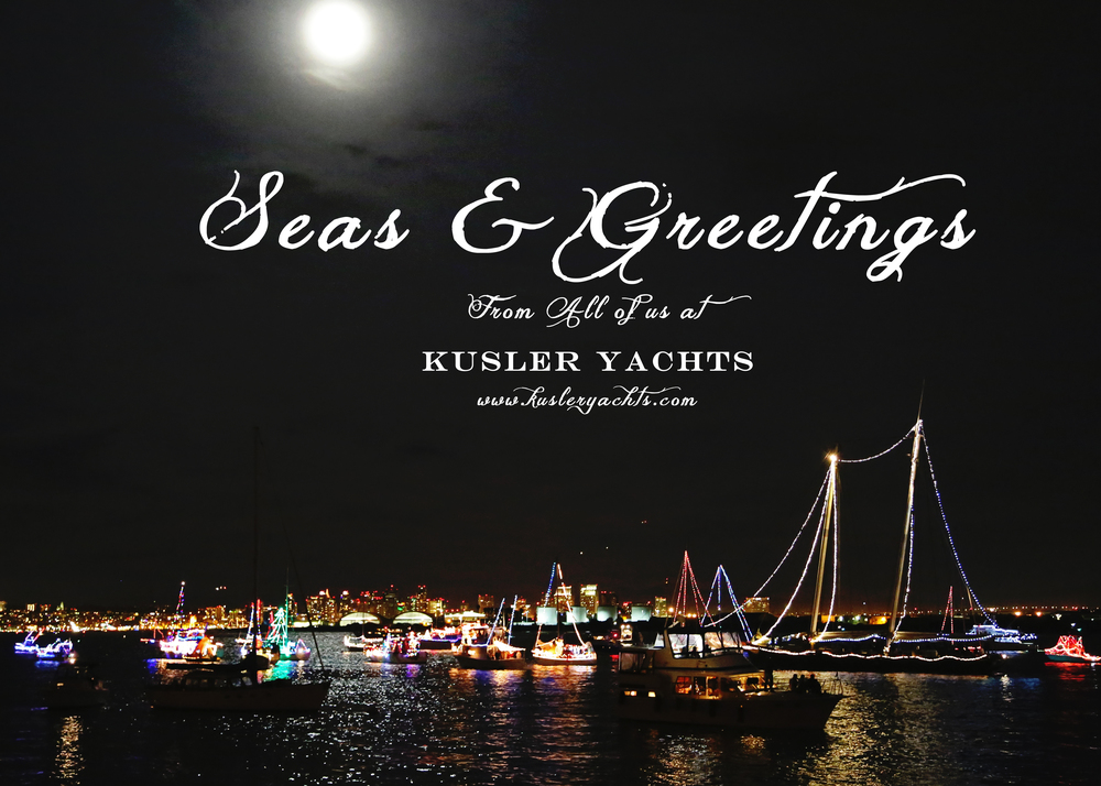 Merry Christmas from all of us at Kusler Yachts
