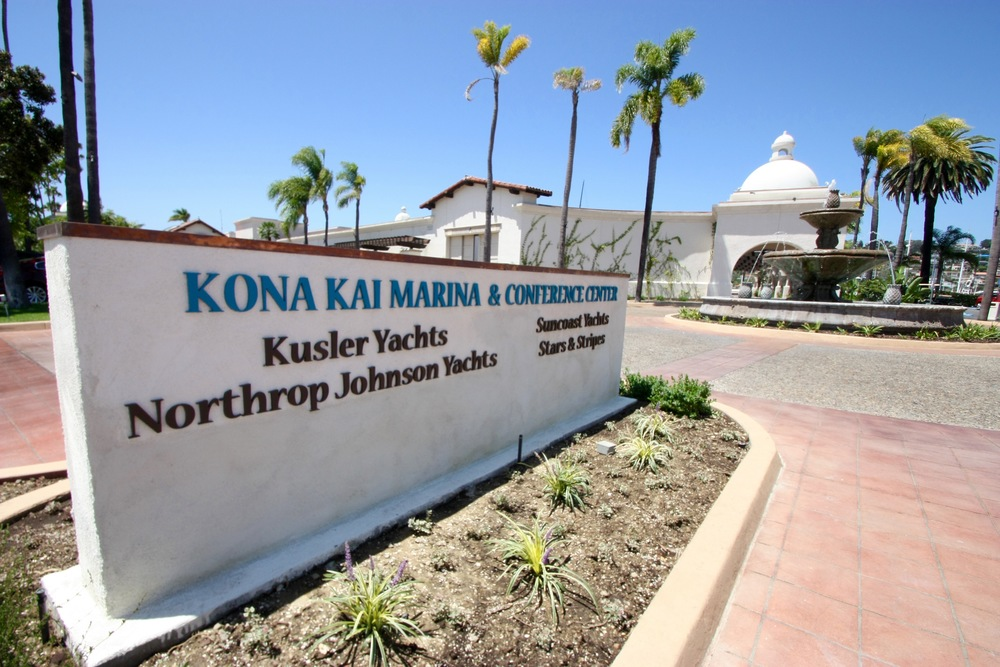 Kona Kai Resort Entrance