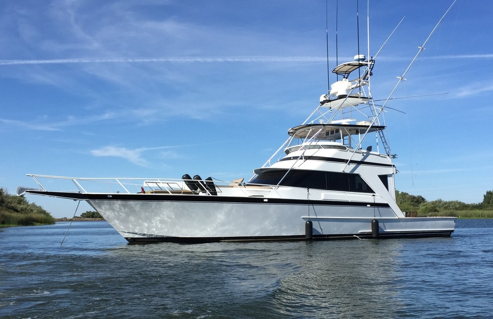 62 39 striker convertible kusler yachts san diego yachts for Fishing boats for sale san diego