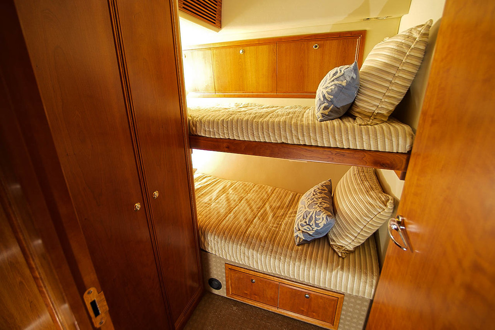 Port Side Bunk Room View
