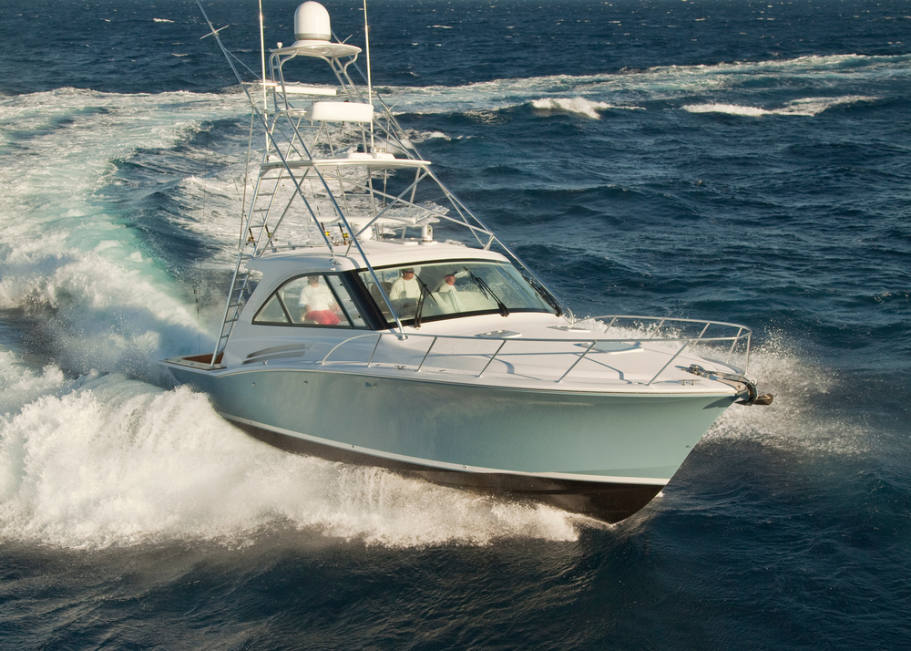 2016 Hatteras Yachts Express Sportfish For Sale by Kusler Yachts San Diego California.