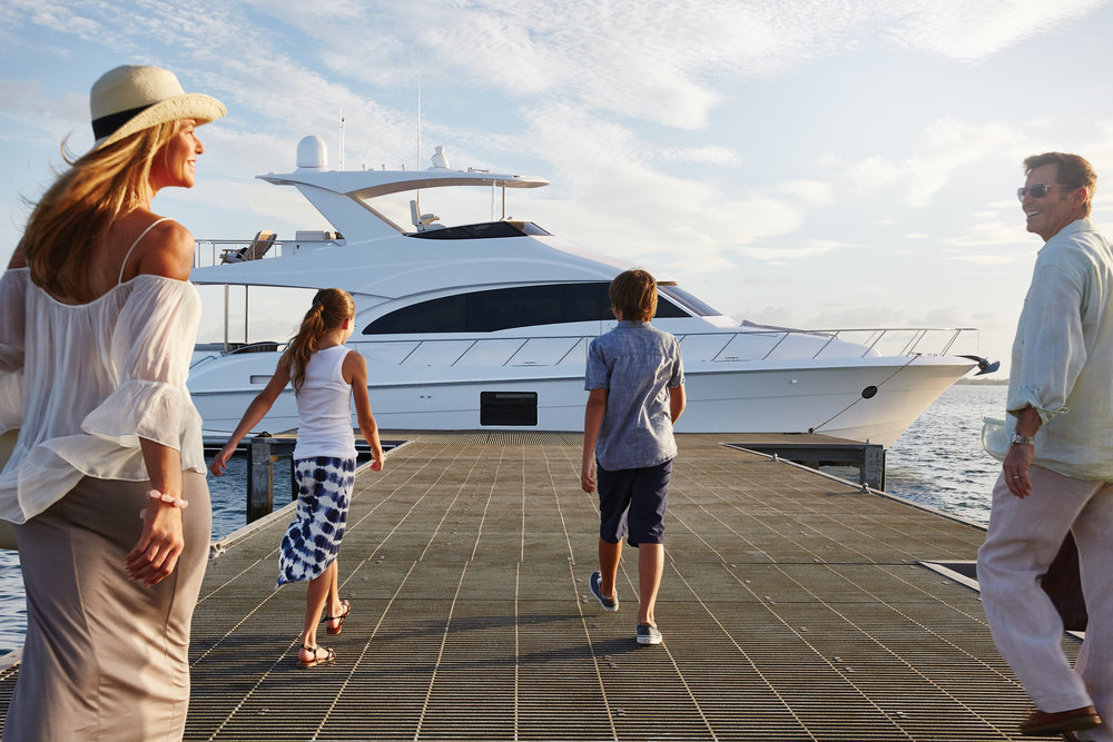 Kusler Yachts is the Southern California and San Diego Hatteras Yachts dealer.